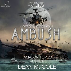 Ambush Audiobook Cover - How This Airline Pilot's UFO Sighting Led To A Bestselling Novel