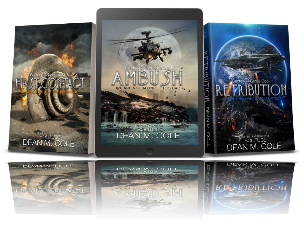 Series Covers - How This Airline Pilot's UFO Sighting Led To A Bestselling Novel