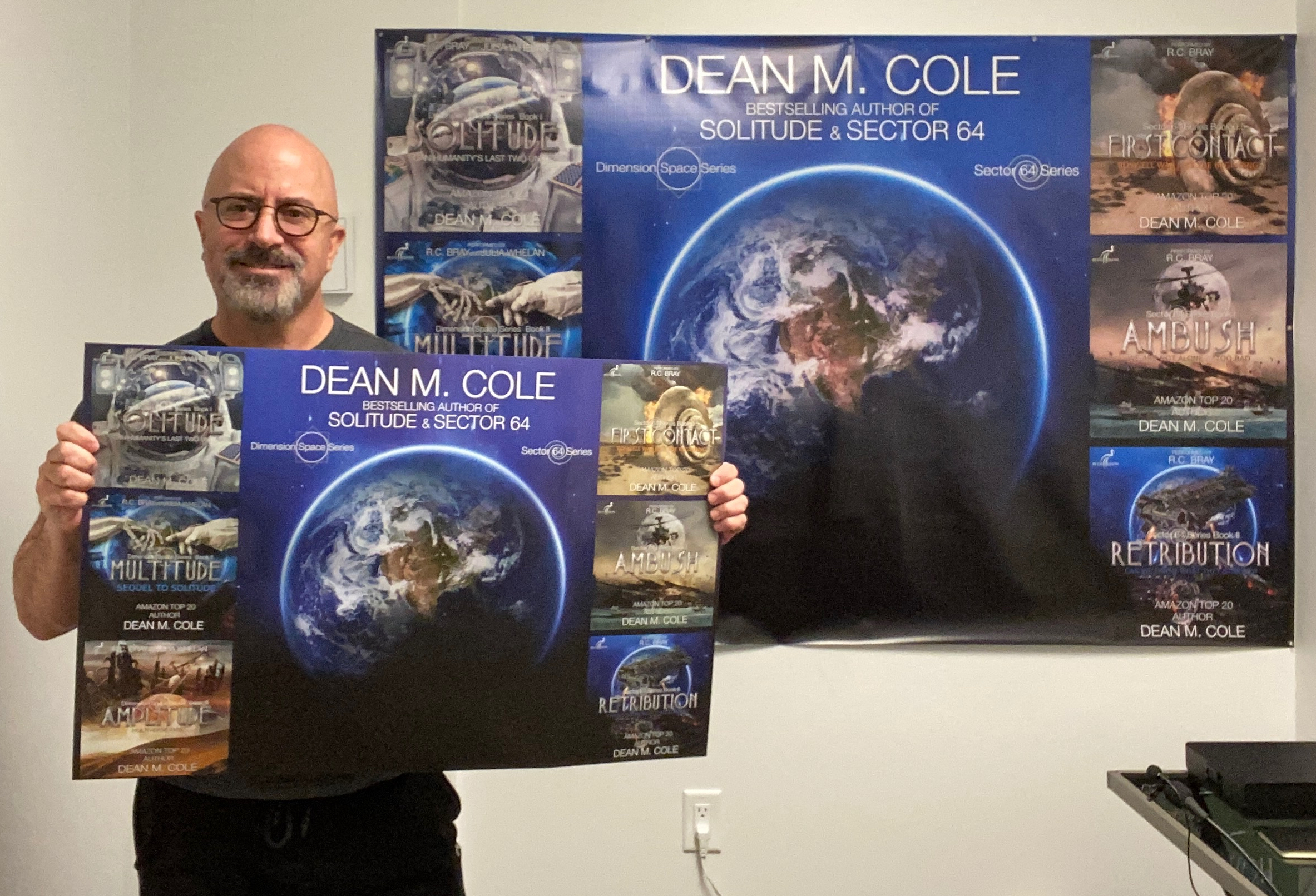 """Poster Featuring Dean's Book Covers 30"""" x 20"""""""