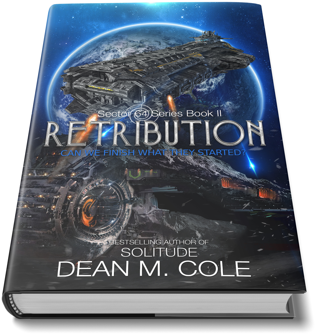 Signed Retribution Hardcover Book